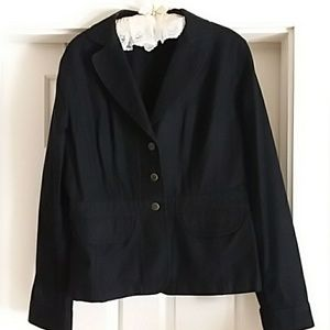 Loft Black Denim Jacket
